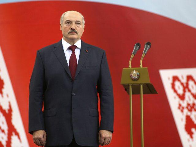 Na snímke prezident Bieloruska Alexander Lukašenko
