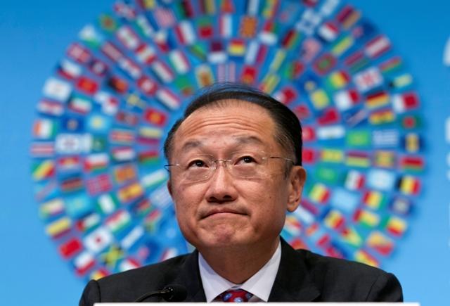 Na snímke prezident Svetovej banky Jim Yong Kim
