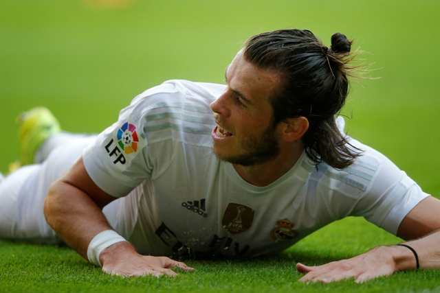 Na snímke waleský stredopoliar Realu Gareth Bale