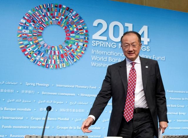 Na snímke prezident Svetovej banky Jim Jong Kim