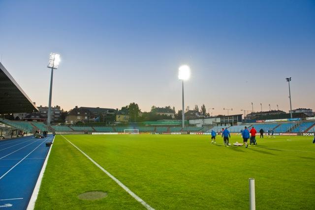 Na snímke štadión Josyho Barthela