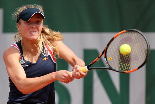 Na snímke ukrajinská tenistka Elina Svitolinová