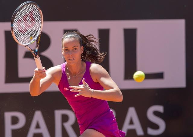 Na snímke austrálska tenistka slovenského pôvodu Jarmila Gajdošová