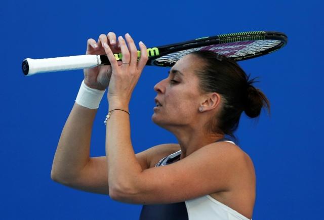 Na snímke talianska tenistka Flavia Pennettová