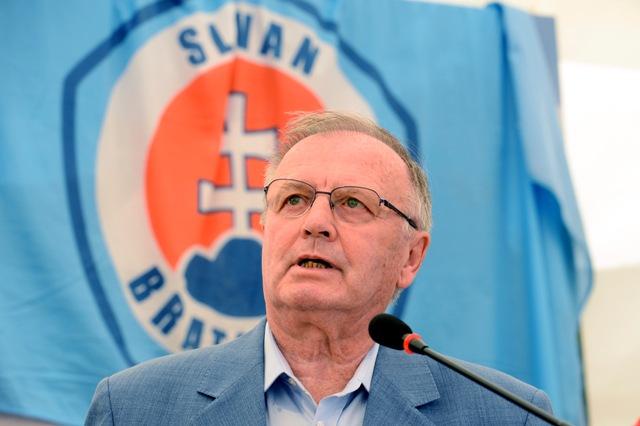 Na snímke Jozef Vengloš
