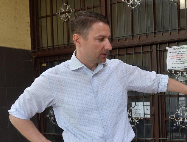 Na snímke primátor Trenčianskych Teplíc Štefan Škultéty