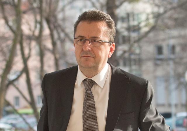 Na snímke minister obrany SR Martin Glváč