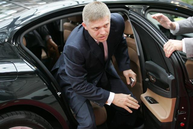 Na snímke slovenský premiér Robert Fico