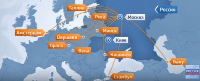 Priame letecké spojenie medzi Ruskom a Ukrajinou je zrušené