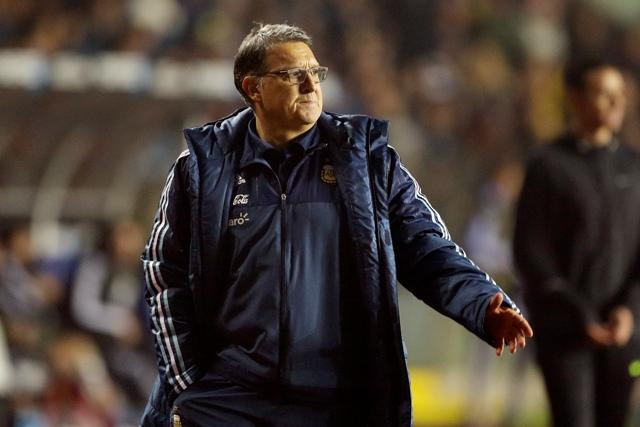 Na snímke argentínsky tréner Gerardo Martino