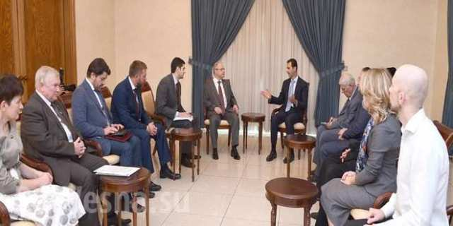 Delegácia ruských poslancov sa taktiež stretla s ďalšími vedúcimi sýrskymi predstaviteľmi, ako aj so zástupcami podnikov, občianskych a náboženských organizácií