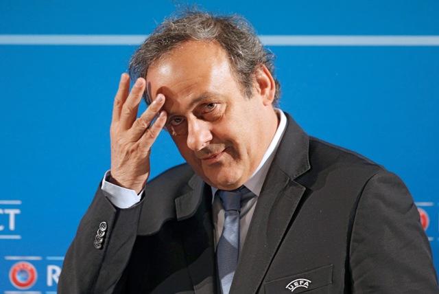 Na snímke Michel Platini