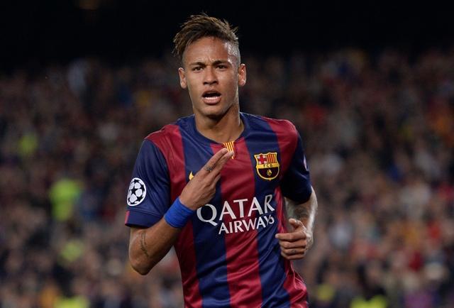 Na snímke Neymar