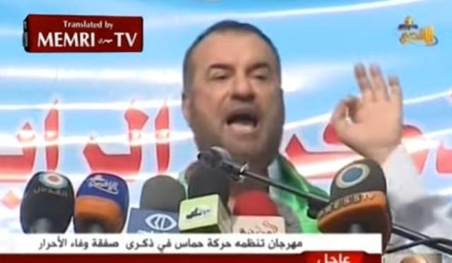 Vysokopostavený zástupca radikálneho islamského hnutia Hamas vyzval všetkých Palestínčanov vo svojom prejave, ktorý bol vysielaný v televízii Al-Aqsa, k boju proti Židom