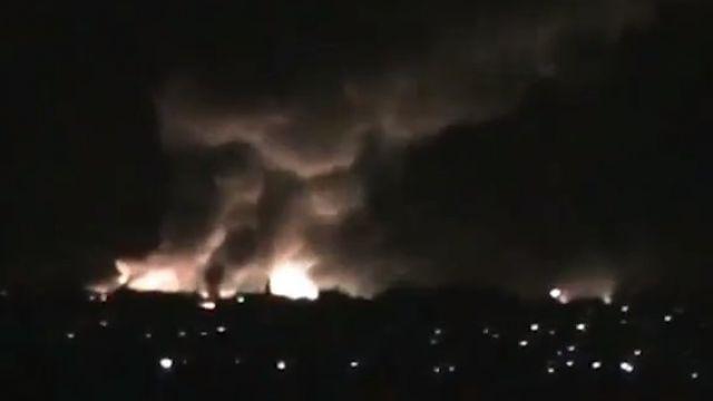 """Včera v ukrajinskom meste Svatovo vybuchol mimoriadne nebezpečný """"ohňostroj"""""""