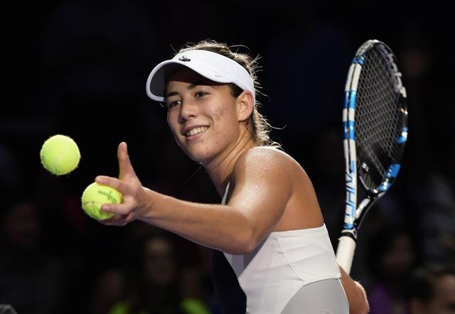 Na snímke španielska tenistka Garbine Muguruzová Blancová