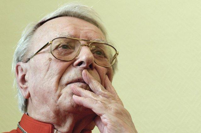 Na snímke kardinál Ján Chryzostom Korec