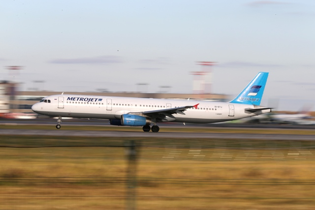 Na snímke lietadlo ruskej leteckej spoločnosti Kogalymavia Airbus A321