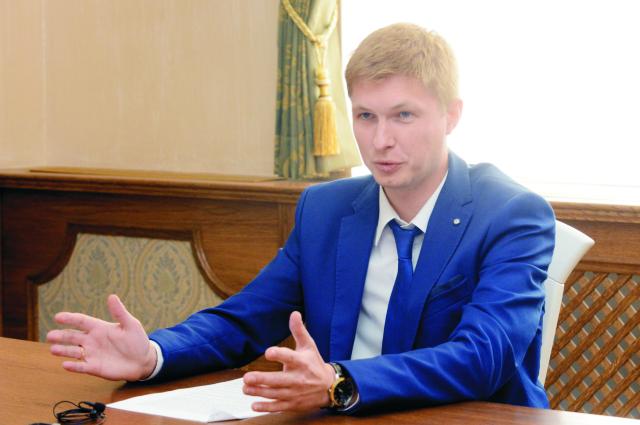 Na snímke tlačový atašé Veľvyslanectva Ruskej federácie v SR Alexej Kulagin
