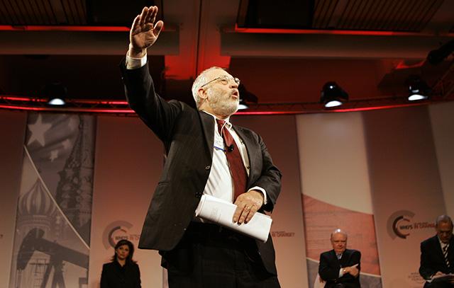 Na snímke bývalý ekonóm Svetovej banky Joseph E. Stiglitz.