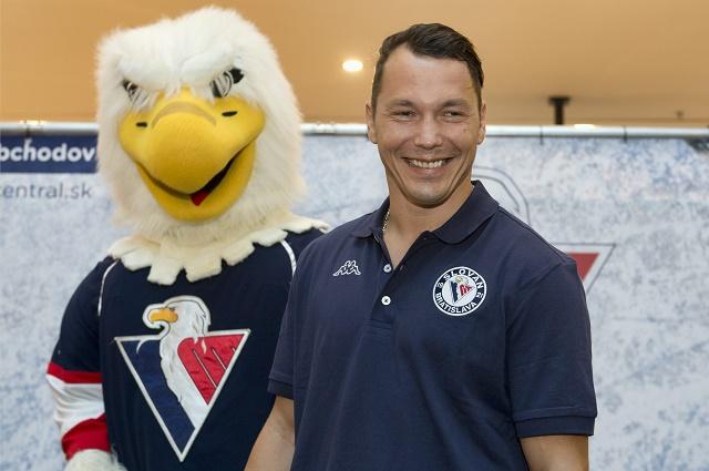 Na snímke hráč HC Slovan Bratislava Ladislav Nagy