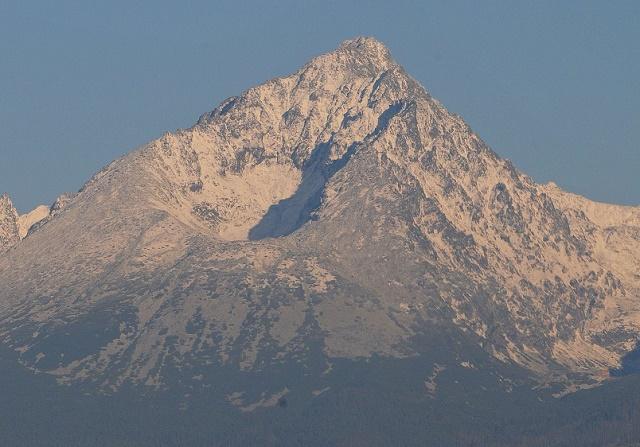 Gerlachovský štít, najvyšší štít na Slovensku (2655 m n.m.)