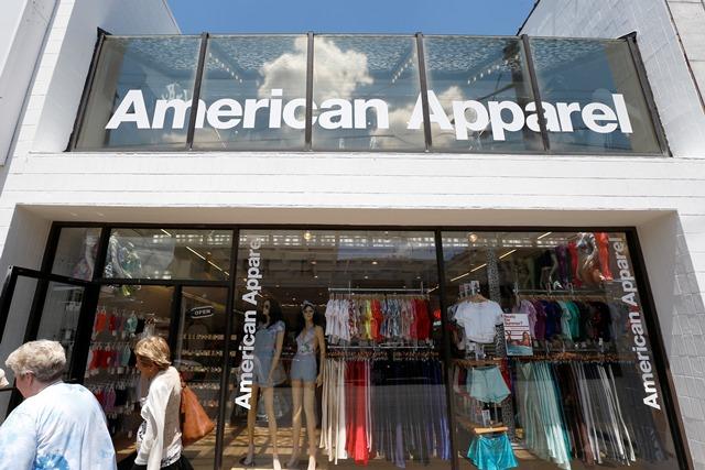 Na snímke obchod spoločnosti American Apparel