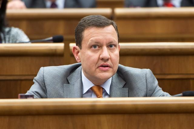 Na snímke poslanec NRSR Daniel Lipšic