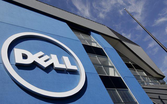 Na snímke logo americkej spoločnosti Dell
