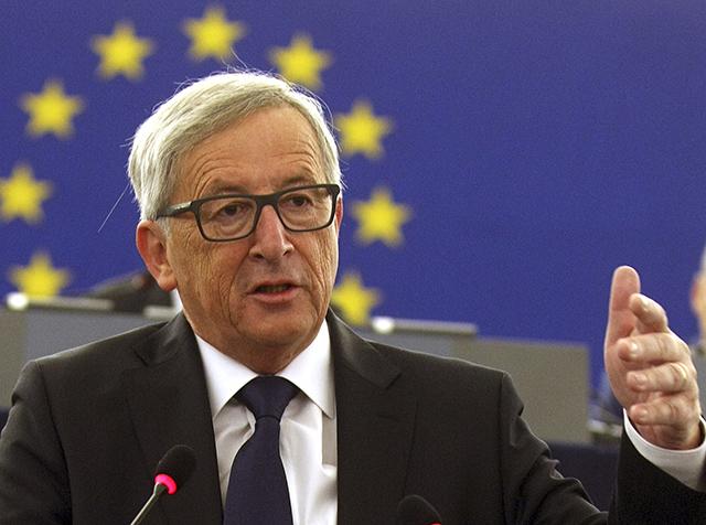 Na snímke predseda Európskej komisie Jean-Claude Juncker.