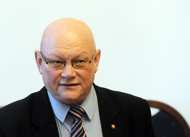 Na snímke predseda MS Marián Tkáč