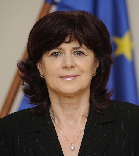 Na snímke novozvolená europoslankyňa Monika Smolková
