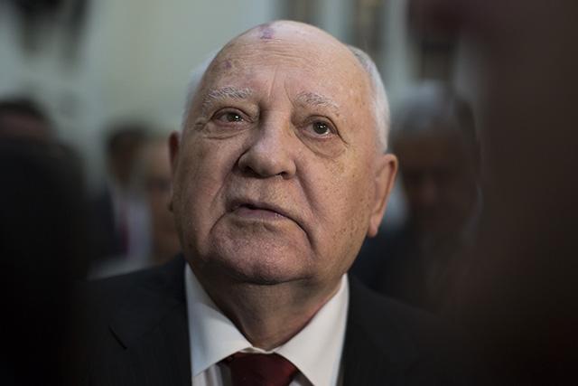 Na snímke bývalý sovietsky a ruský prezident Michail Gorbačov