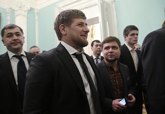 Na snímke čečenský líder Ramzan Kadyrov.