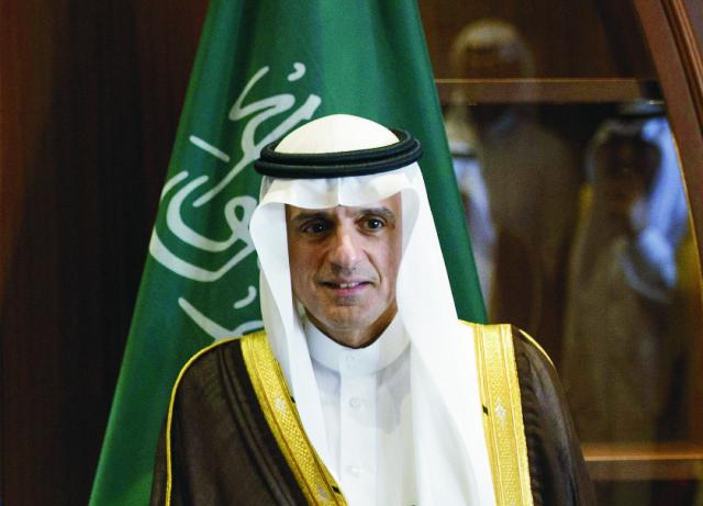 Na archívnej snímke minister zahraničných vecí Saudskej Arábie Ádil Džubajr