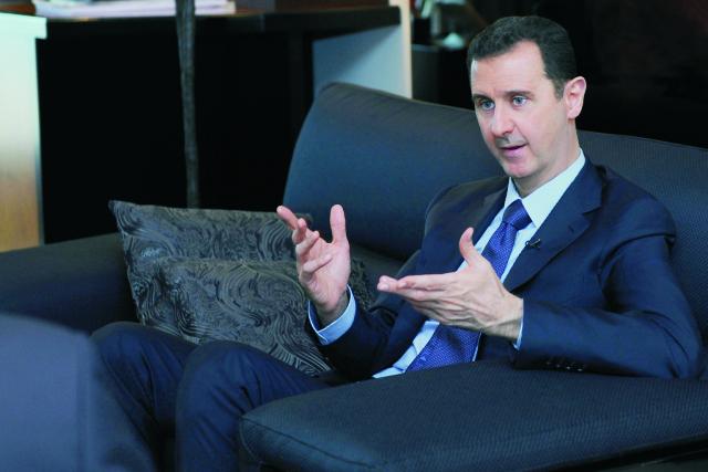 Sýrsky prezident Bašár Asad