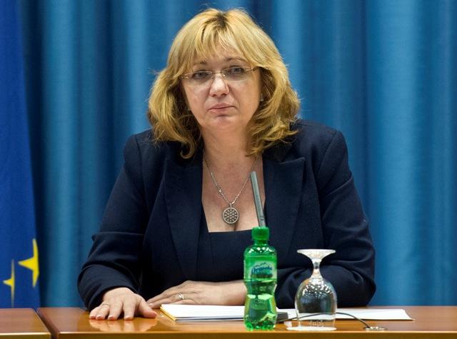 Na snímke predsedníčka Súdnej rady Jana Bajánková