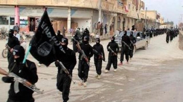 Ilustračné foto bojovníkov IS