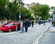 Foto z demonštrácie  Sýrcanov v Bratislave