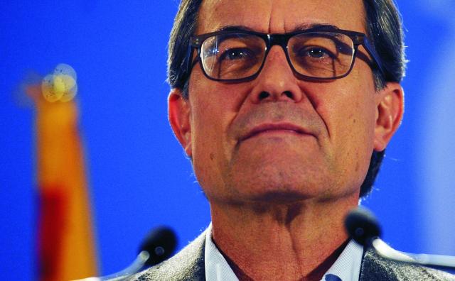 Katalánsky regionálny prezident  Artur Mas