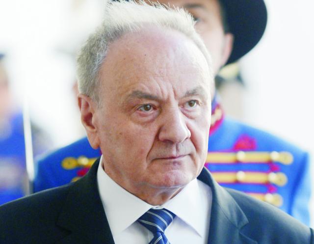 a snímke prezident Moldavskej republiky Nicolae Timofti
