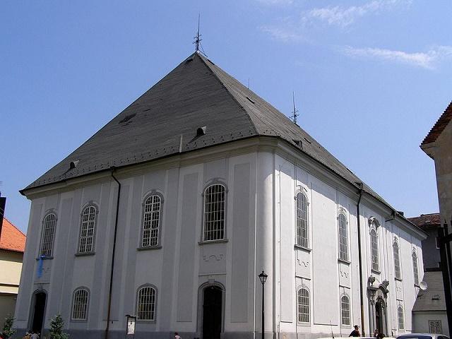 Na snímke Veľký evanjelický kostol v Bratislave
