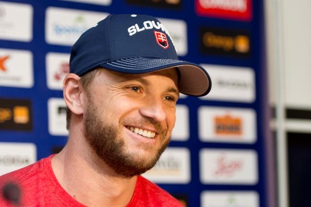Na snímke slovenský hokejový útočník Marián Gáborík