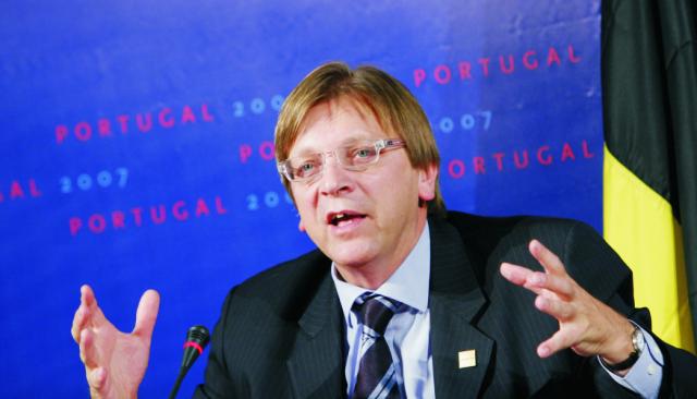 Belgický premiér Guy Verhofstadt