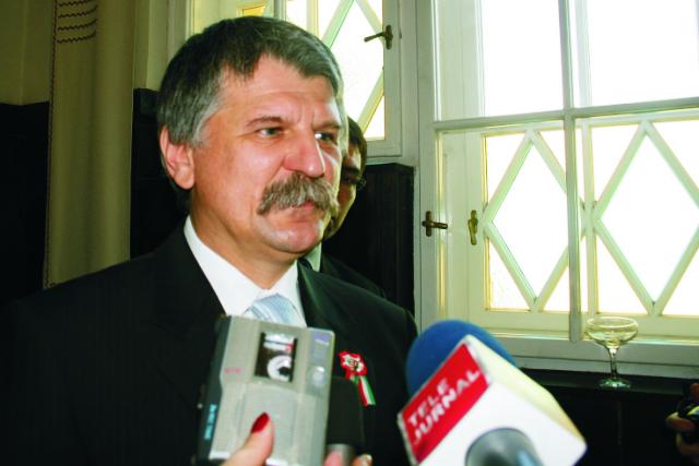 Predseda maďarského parlamentu László Kövér