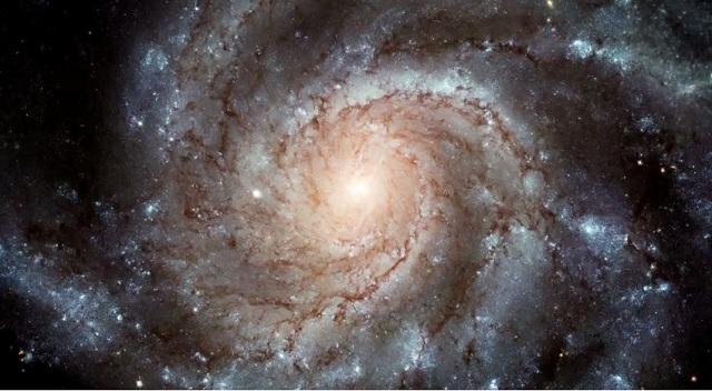 Na snímke Mliečna dráha