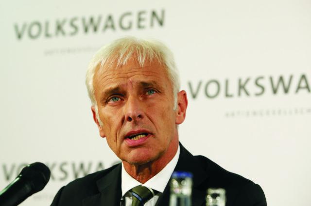 Nový šéf Volkswagenu (VW) Matthias Müller