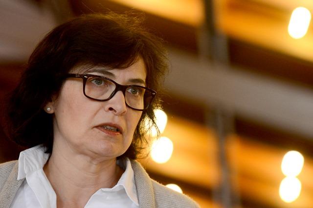 Na snímke podpredsedníčka Mosta-Híd Lucia Žitňanská