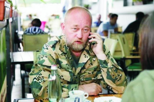 Na archívnej snímke generálplukovník Ozbrojených síl Ukrajiny Vladimír Ruban