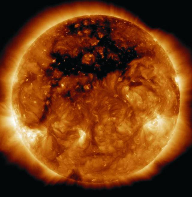 Na snímke obrázok Slnka